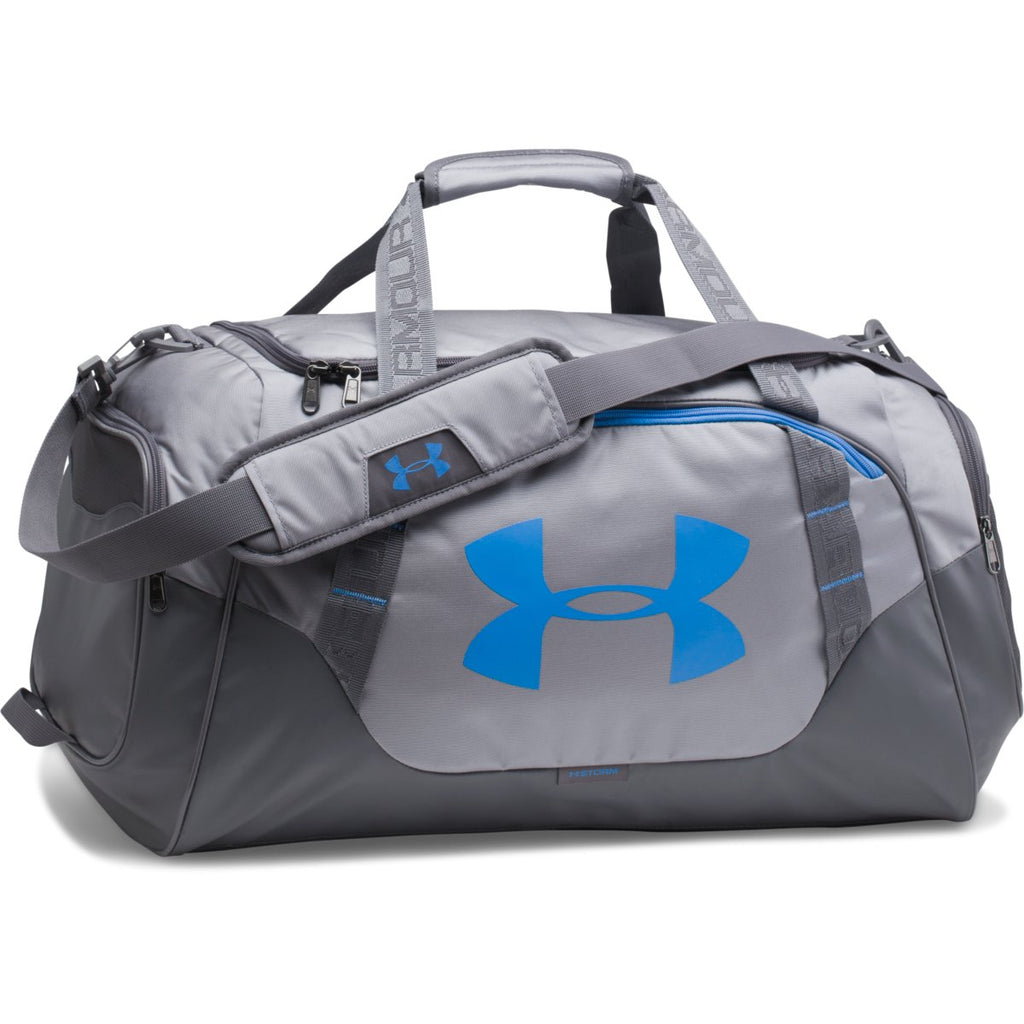 3fcde3c22ab0 Under Armour Steel Graphite Undeniable 3.0 Medium Duffle