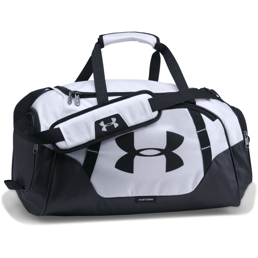 d3426f791598 Under Armour White Black UA Undeniable 3.0 Small Duffel
