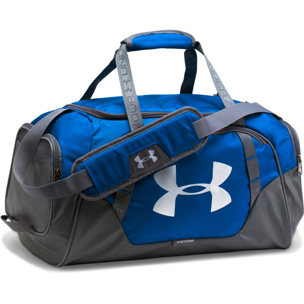 97fd3fc1ce Under Armour Royal Graphite UA Undeniable 3.0 Small Duffel