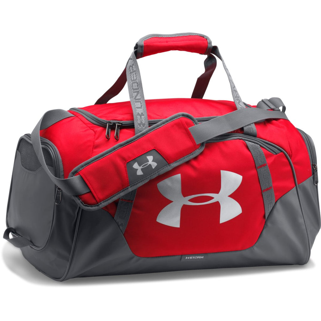 f1f3b979ab Under Armour Red Graphite UA Undeniable 3.0 Small Duffel