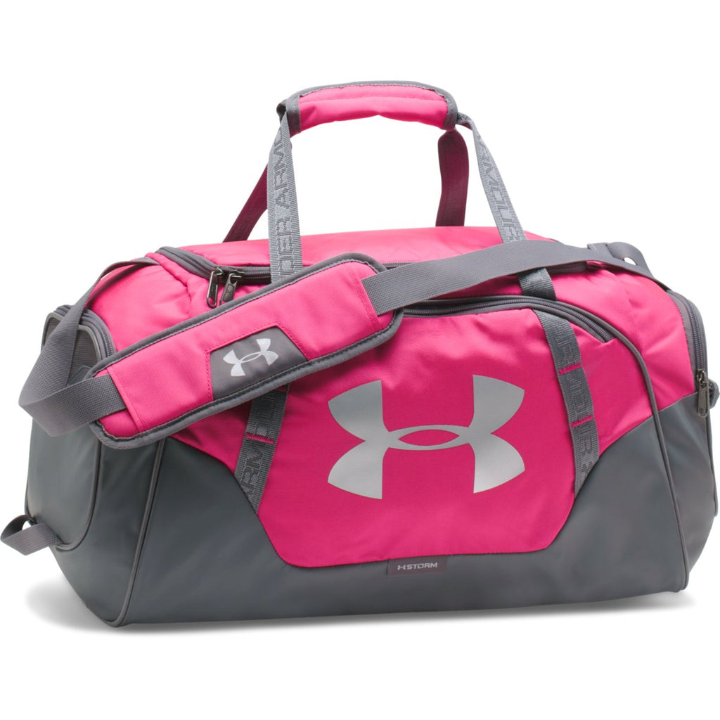 4b319faf6d Under Armour Tropic Pink Graphite UA Undeniable 3.0 Small Duffel