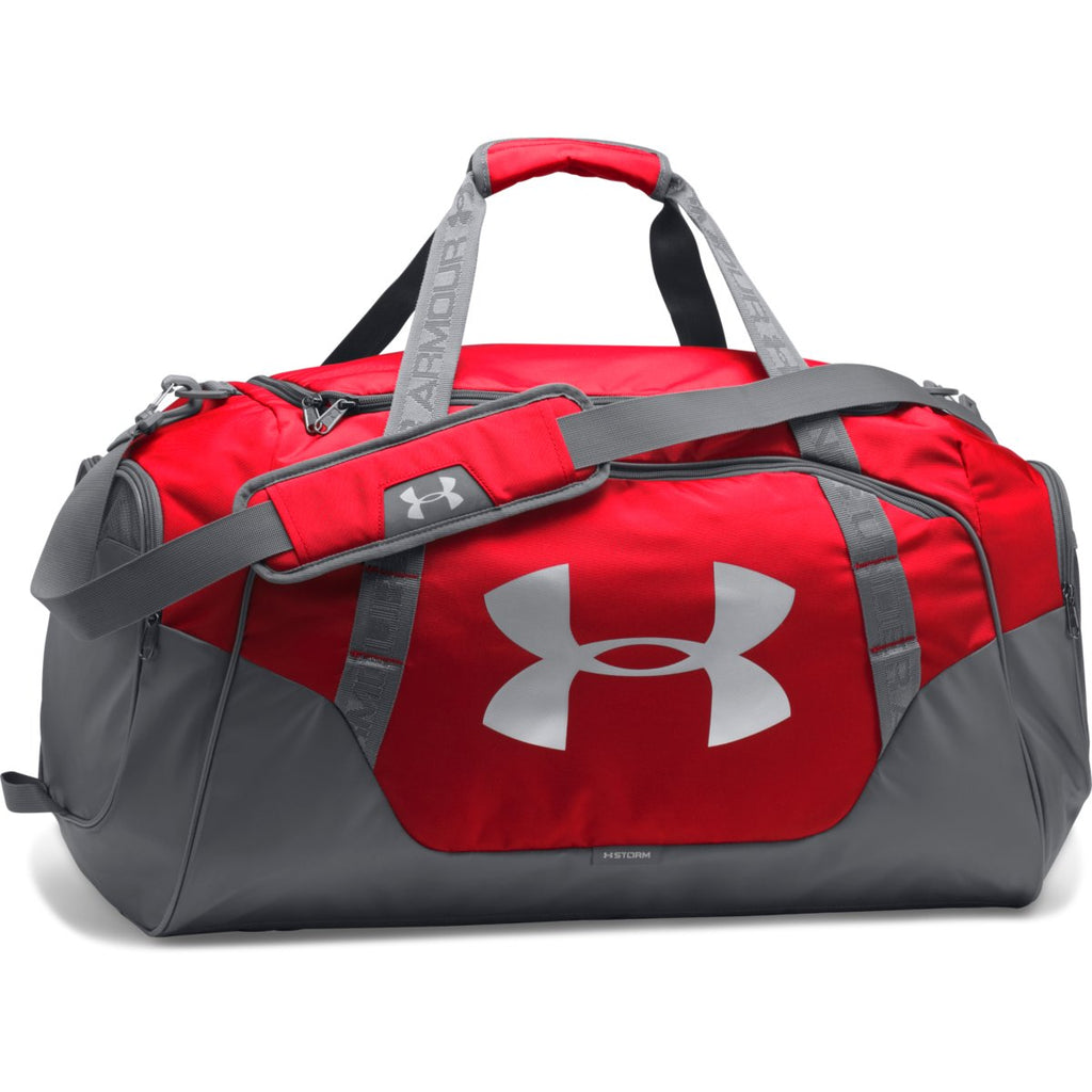 d140f2d2f Under Armour Red/Graphite UA Undeniable 3.0 Large Duffle