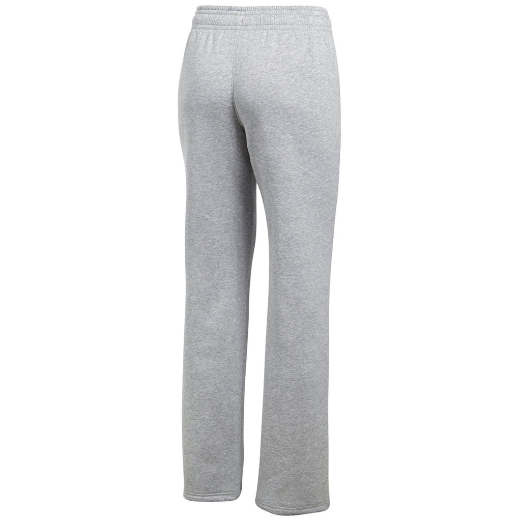 Under Armour Women's True Grey Heather Hustle Fleece Pant