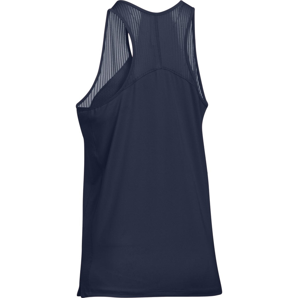 Under Armour Women's Midnight Navy Game Time Tank