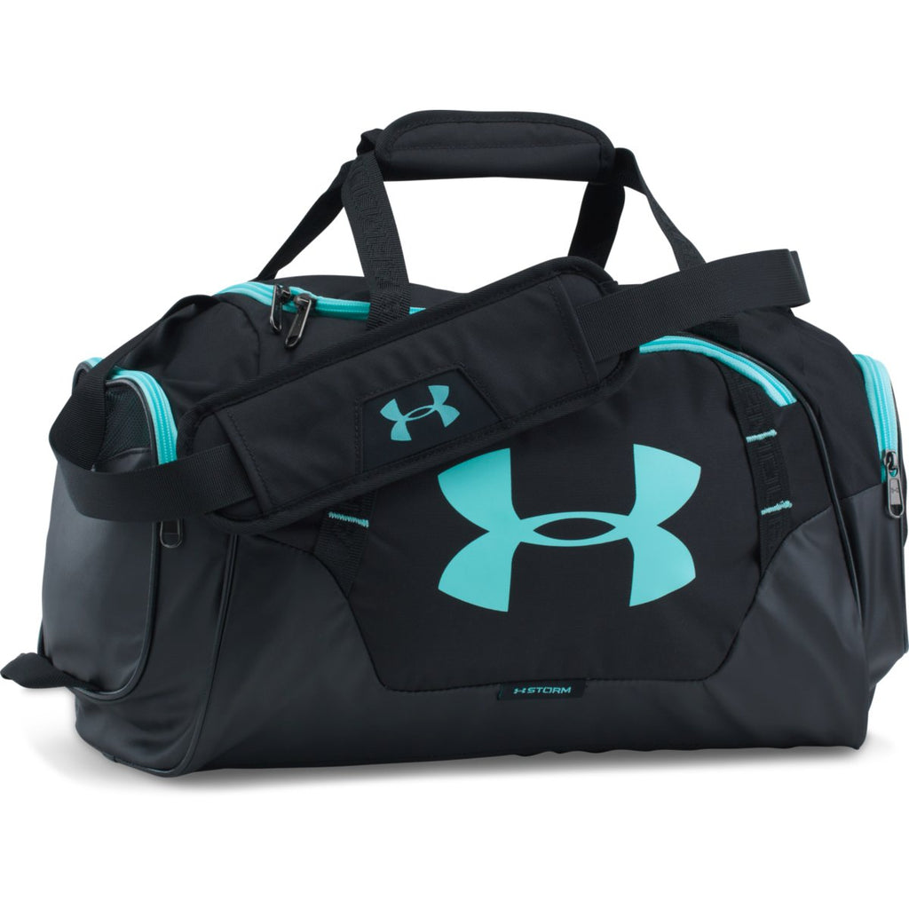 e02a6d1c00748 Under Armour Black/Blue UA Undeniable 3.0 XS Duffel
