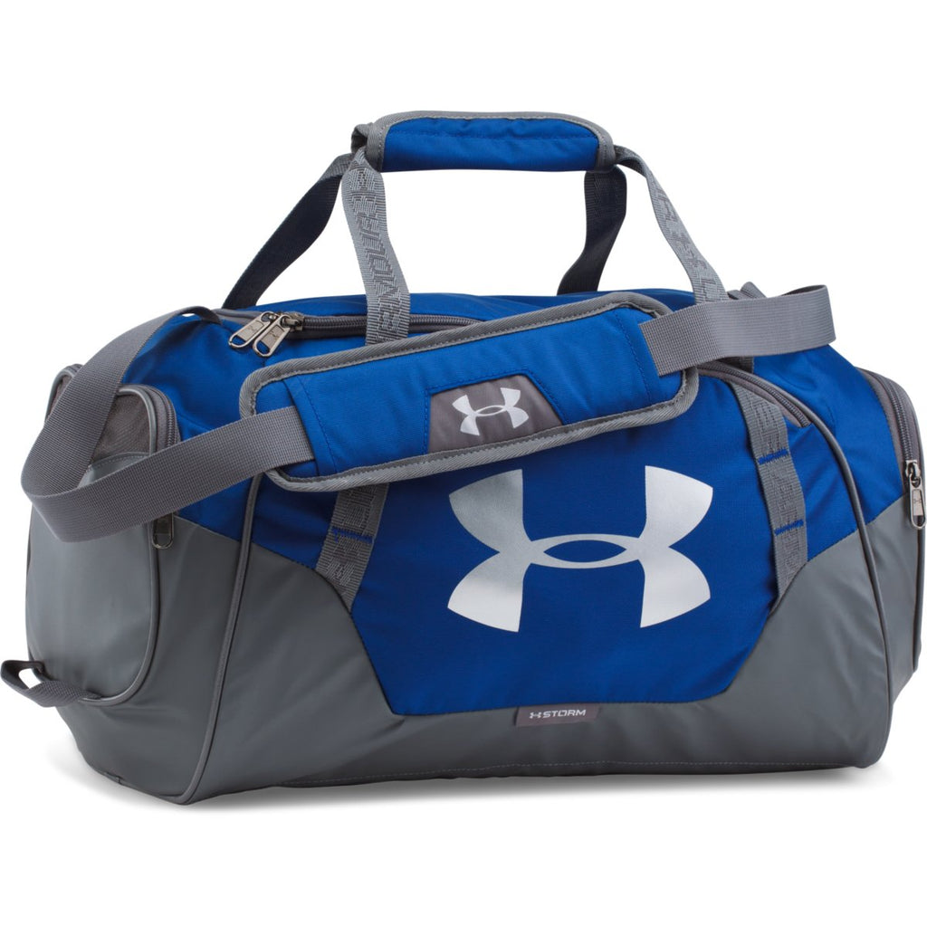 5108ac37421cd Under Armour Royal/Graphite UA Undeniable 3.0 XS Duffel