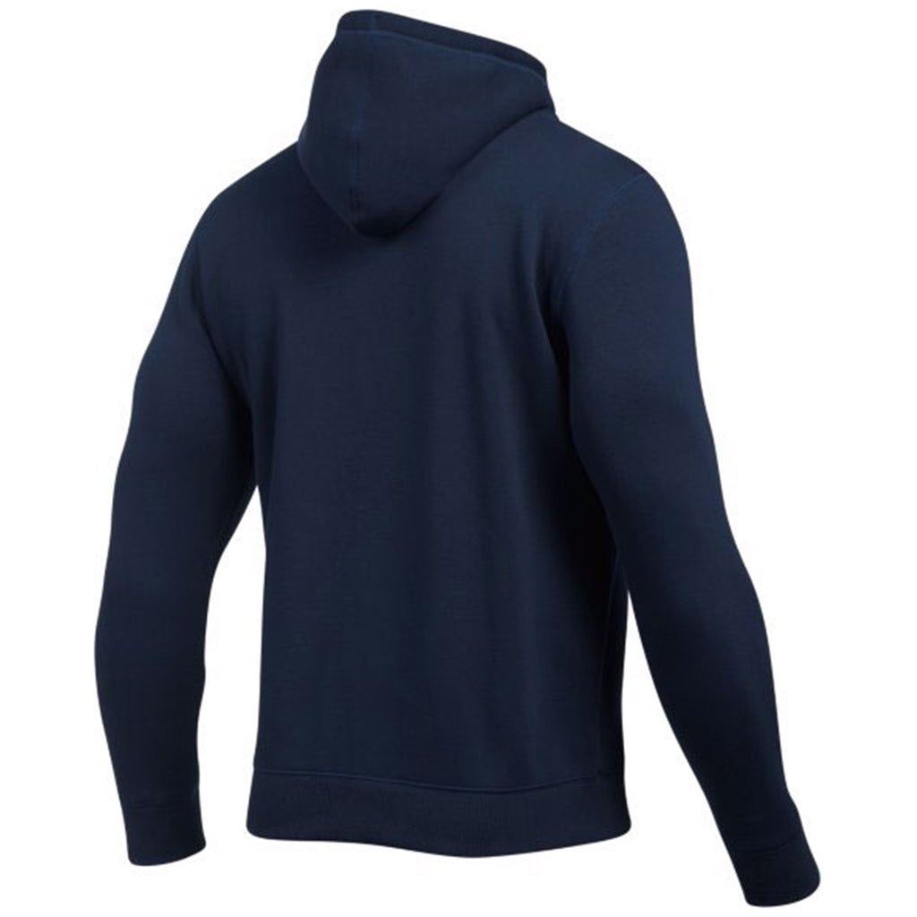 Under Armour Men's Midnight Navy Rival Fitted Full Zip Hoodie