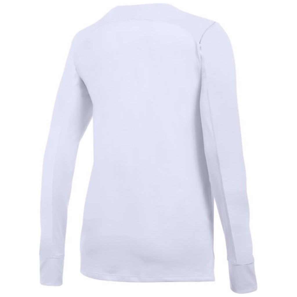 Under Armour Women's White Favorite Long Sleeve