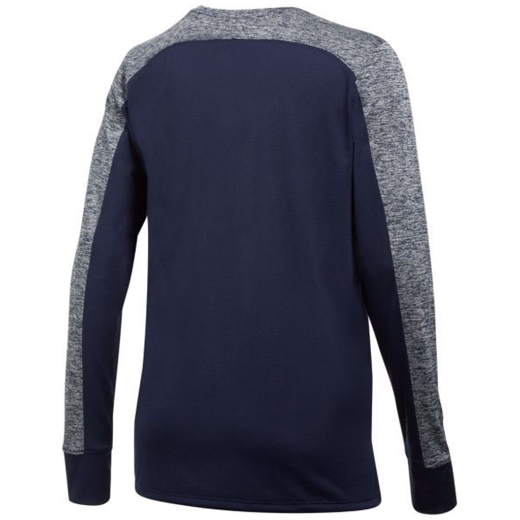 Under Armour Women's Midnight Navy Favorite Long Sleeve