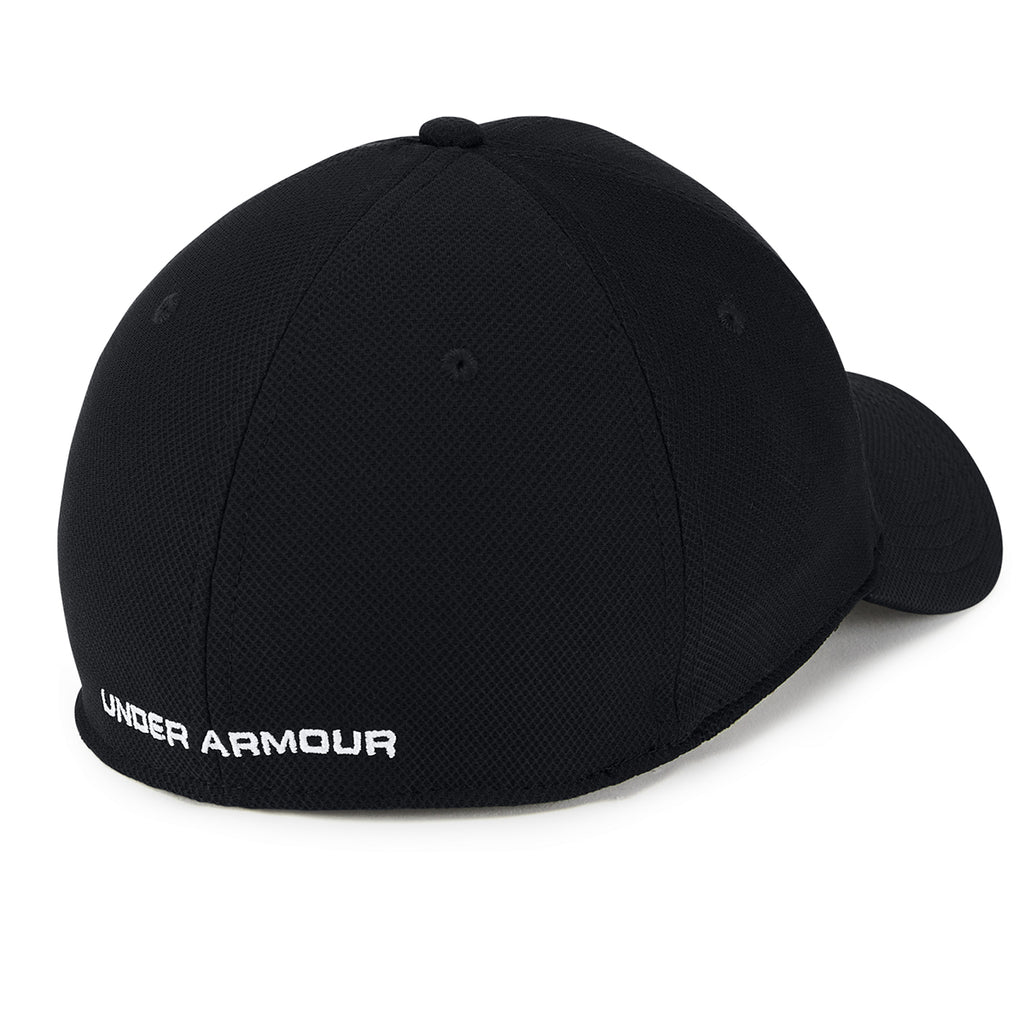 Under Armour Men's Black/White Blitzing 3.0 Cap