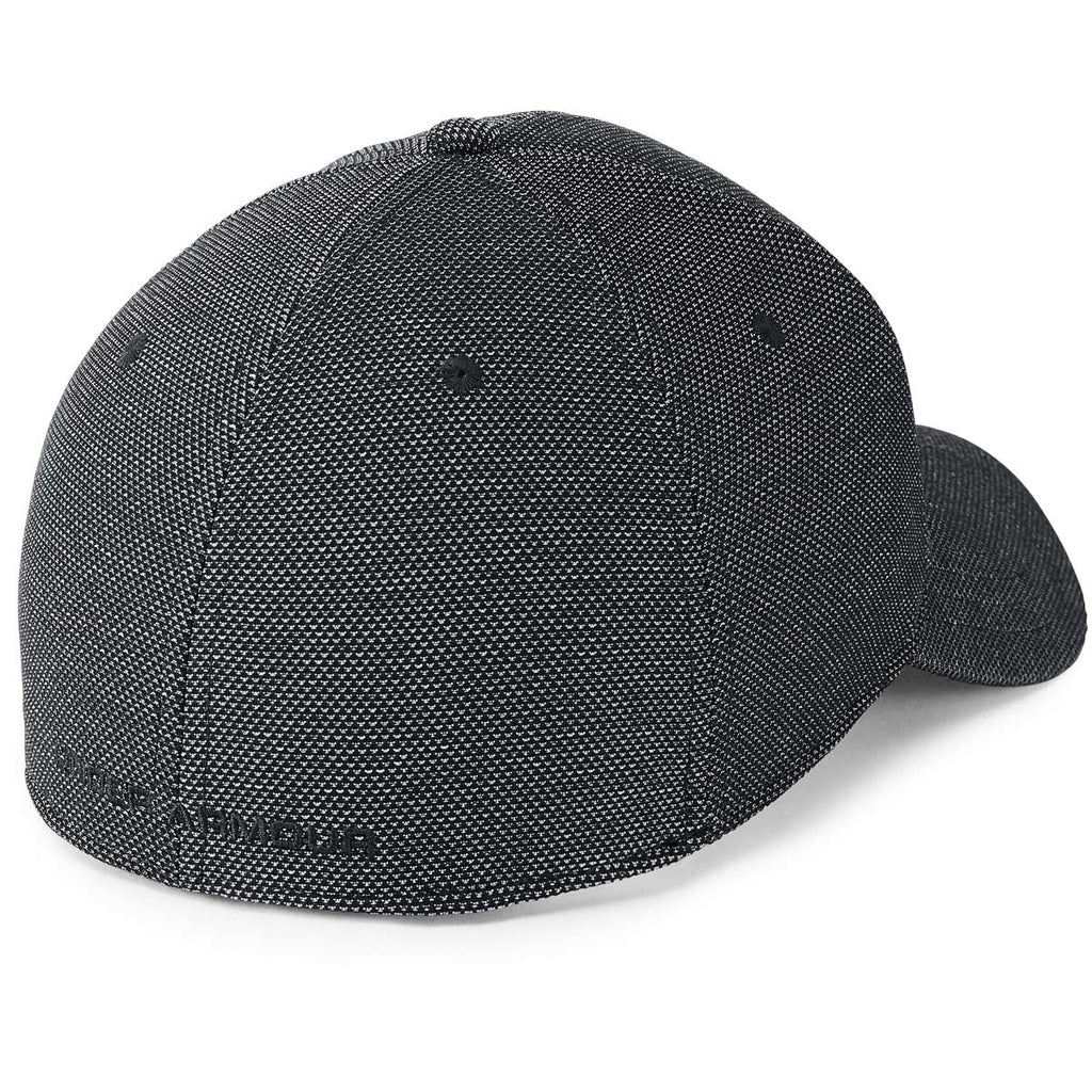 Under Armour Men's Black Heathered Blitzing Cap