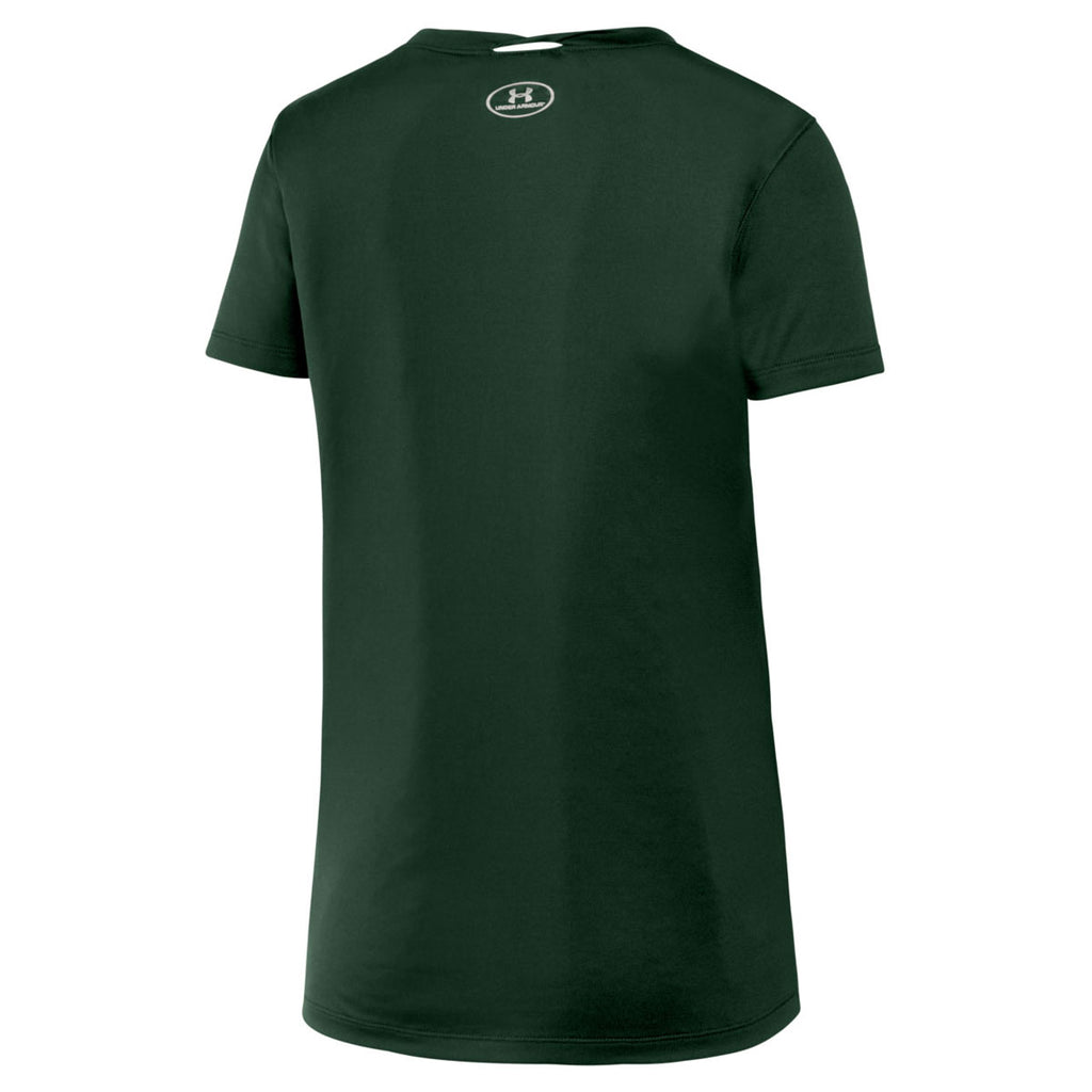 Under Armour Women's Forest Green 2.0 Locker Tee
