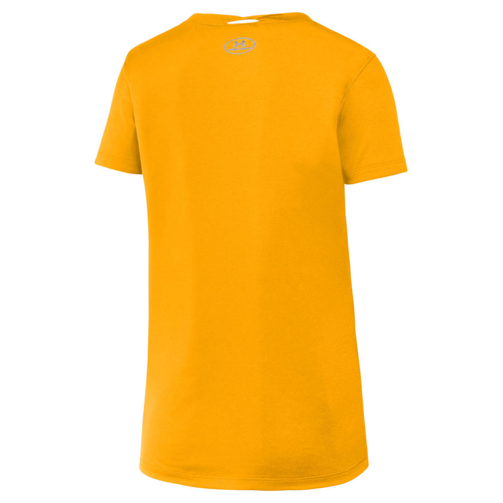 Under Armour Women's Steeltown Gold 2.0 Locker Tee