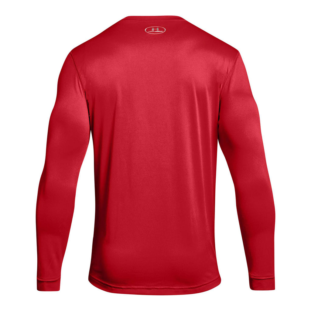 Under Armour Men's Red 2.0 Long Sleeve Locker Tee