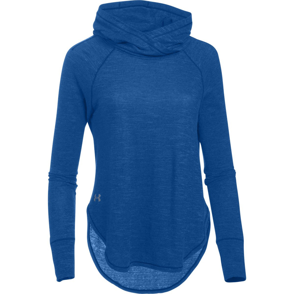 Under Armour Women s Royal Stadium Hoodie. ADD YOUR LOGO 08544636af