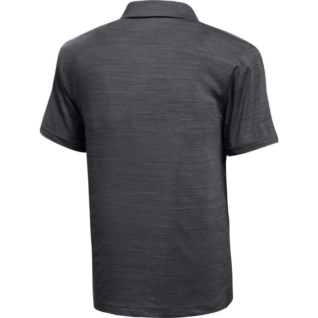 Under Armour Men's Black Medium Heather Elevated Polo
