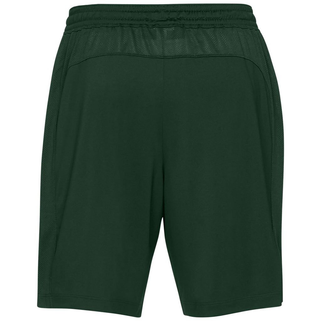 Under Armour Men's Forest Green Team Raid Shorts 2.0
