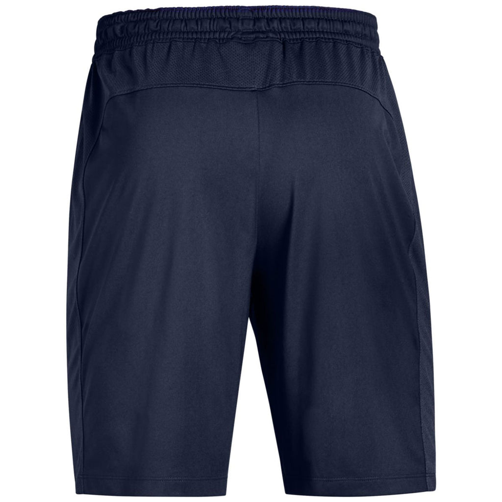 Under Armour Men's Midnight Navy Team Raid Shorts 2.0