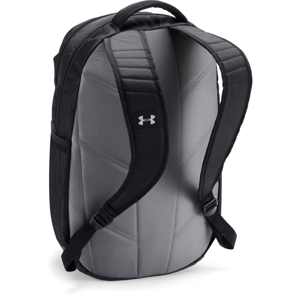 Under Armour Black UA Team Hustle 3.0 Backpack