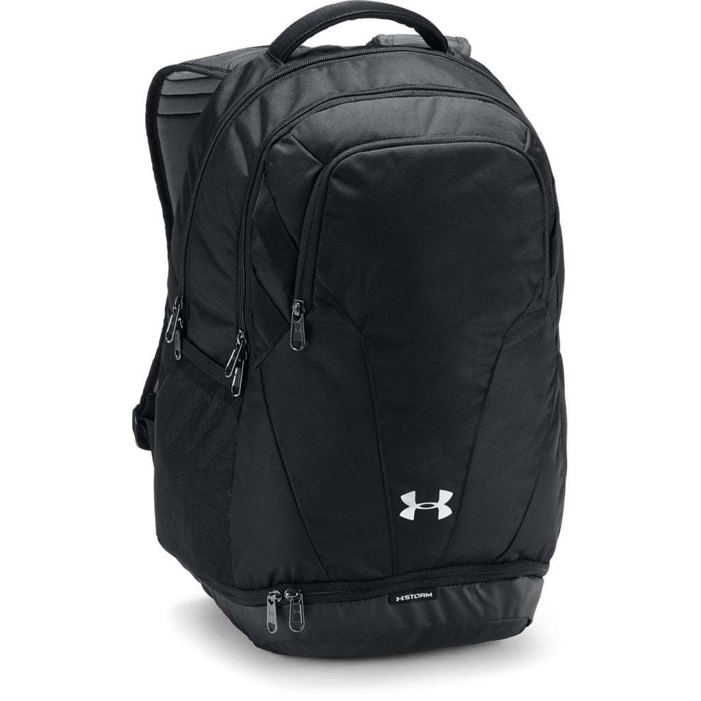 Under Armour Black UA Team Hustle 3.0 Backpack. ADD YOUR LOGO 307a48cf45