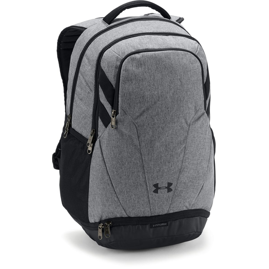 outlet store 26f7a 200a5 Under Armour Graphite UA Team Hustle 3.0 Backpack. ADD YOUR LOGO