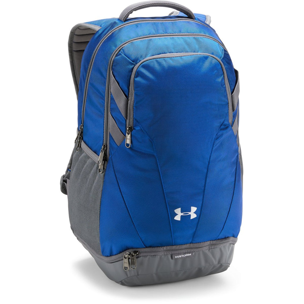 4642e4c10cfc Under Armour Royal UA Team Hustle 3.0 Backpack. ADD YOUR LOGO