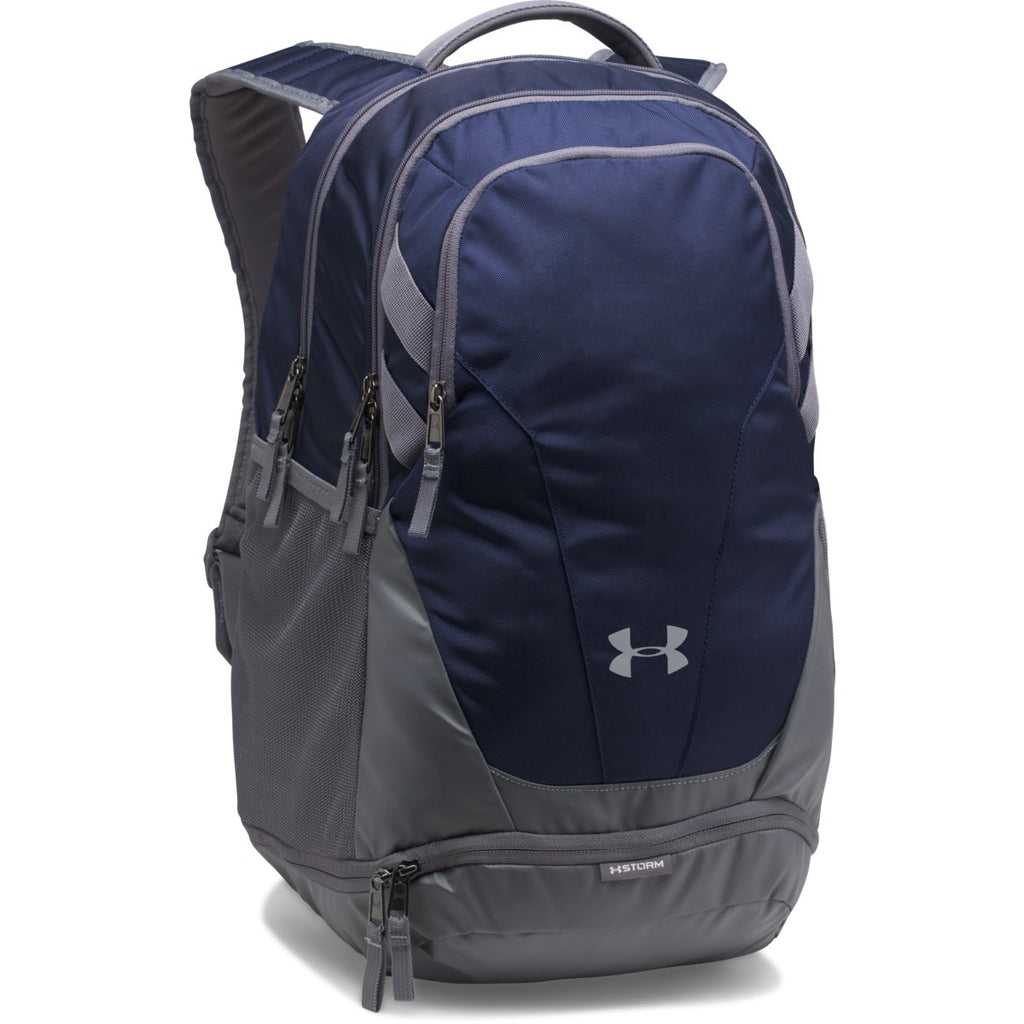 Under Armour Midnight Navy UA Team Hustle 3.0 Backpack 8330d7751f