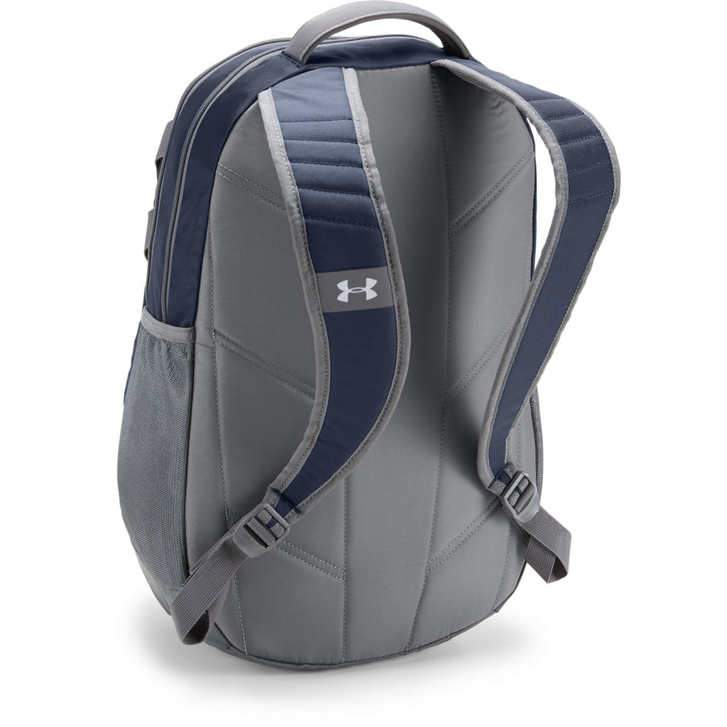 new style 03fd9 733fa Under Armour Midnight Navy UA Team Hustle 3.0 Backpack