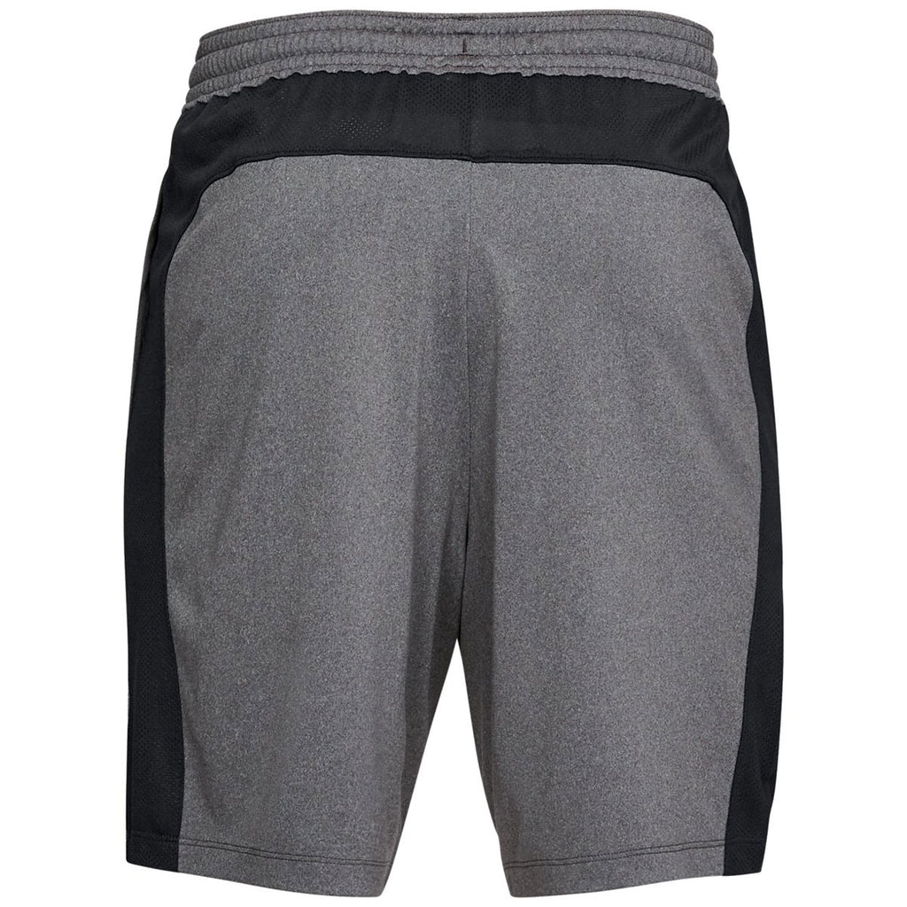 Under Armour Men's Charcoal Light Heather/Black MK1 Shorts