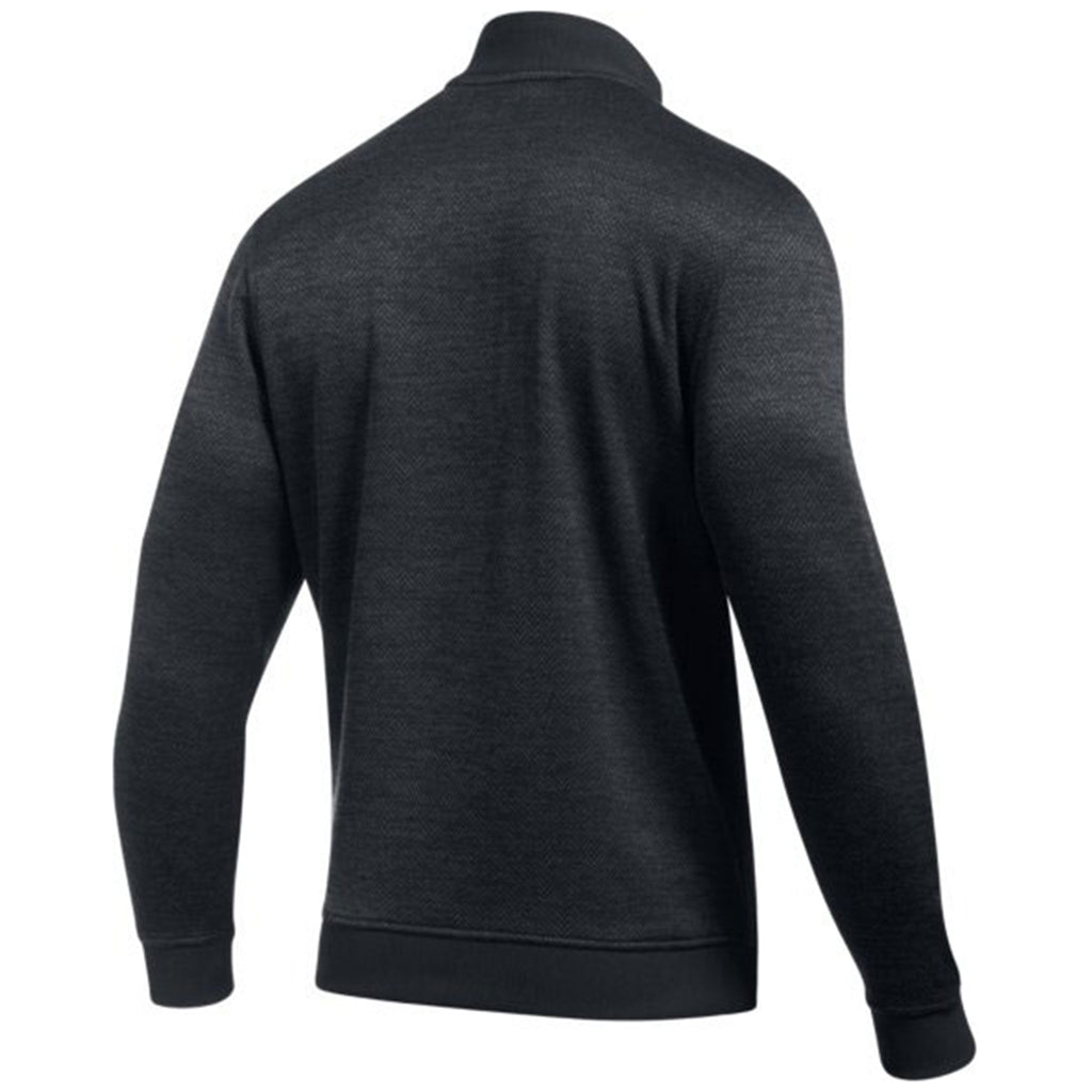 Under Armour Men's Athletic Heather Storm Herringbone Quarter Zip