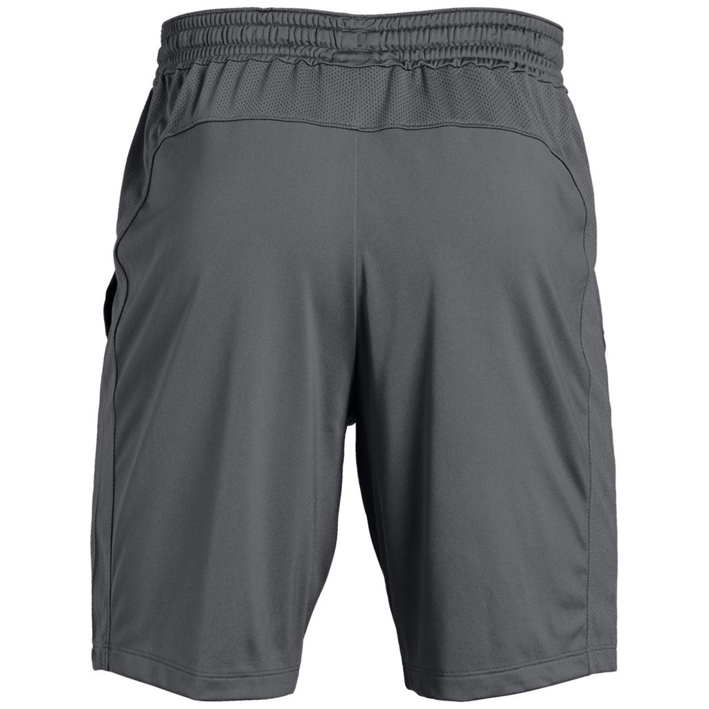 Under Armour Men's Graphite Pocketed Raid Shorts