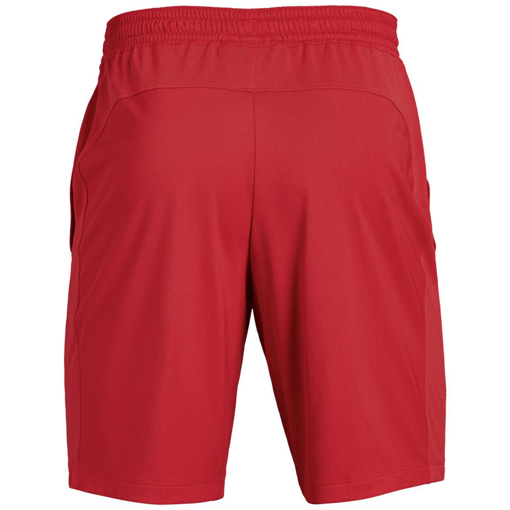 Under Armour Men's Red Pocketed Raid Shorts