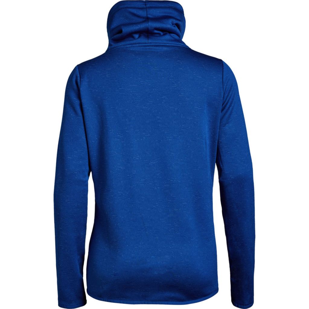 Under Armour Women's Royal Full Heather Novelty Funnel Neck Hoody