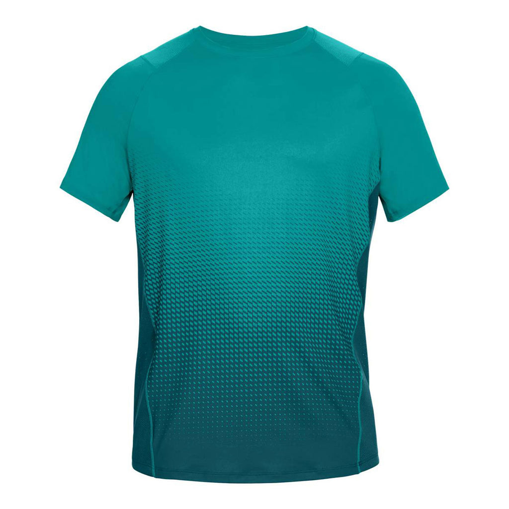 Under armour men 39 s swallowtail tourmaline teal mk1 dash for Teal under armour shirt