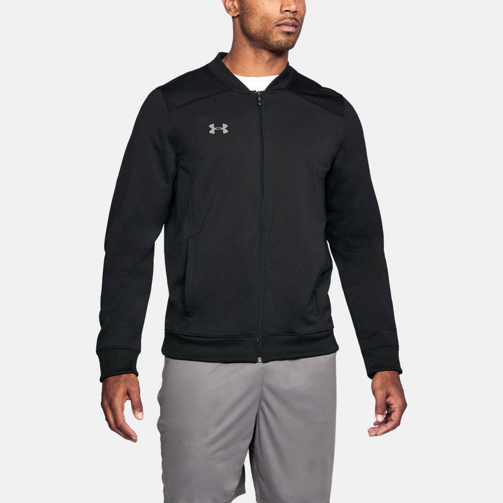 Under Armour Men's Black Challenger II Track Jacket