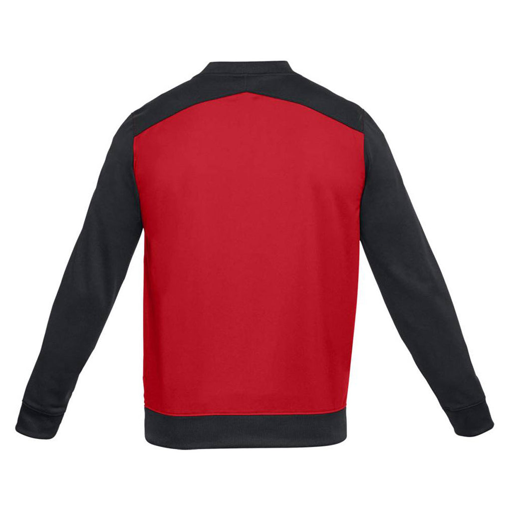 Under Armour Men's Red Black Challenger II Track Jacket