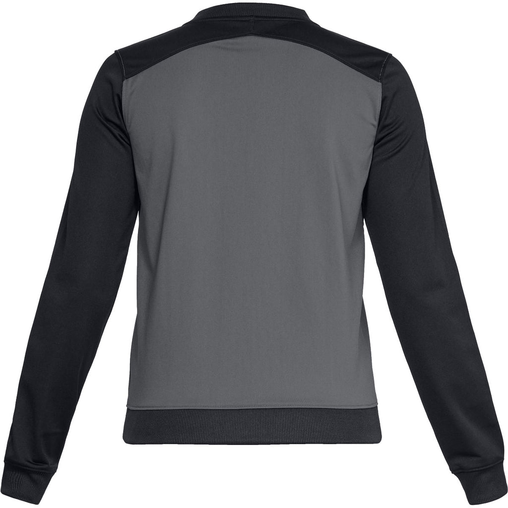 Under Armour Women's Graphite Challenger II Track Jacket
