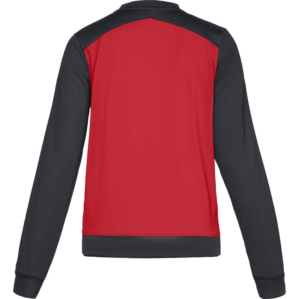 Under Armour Women's Red Challenger II Track Jacket