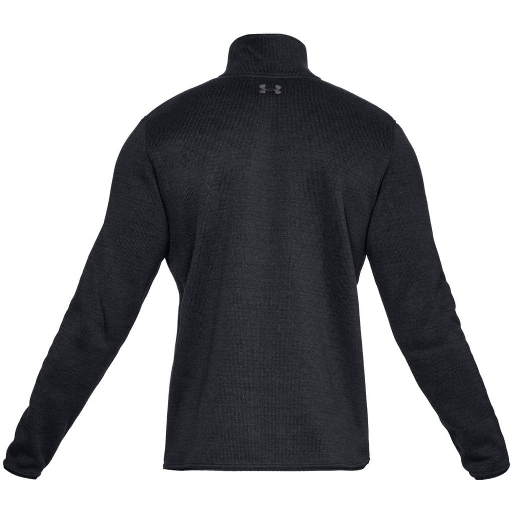 Under Armour Men's Black Specialist Henley Pullover