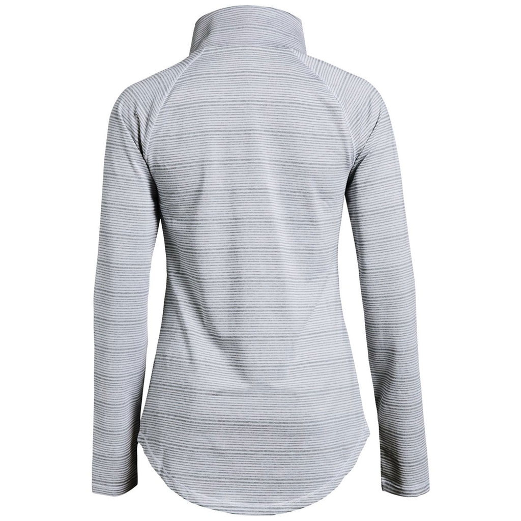 Under Armour Women's True Grey Heather Zinger Pullover