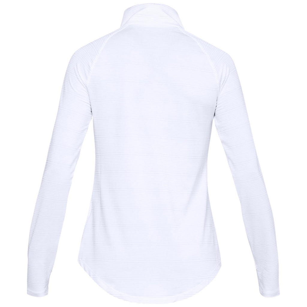 Under Armour Women's White Zinger Pullover
