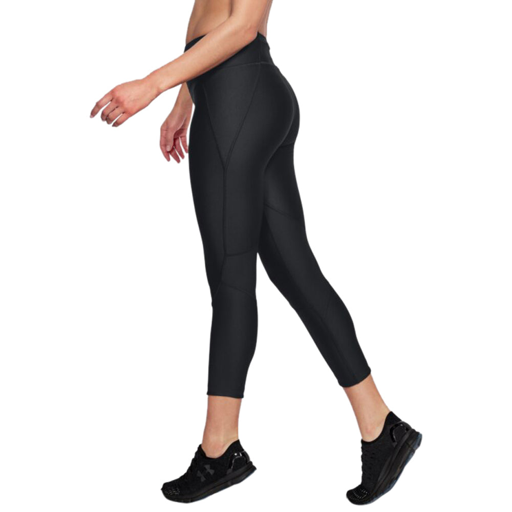 Under Armour Women's Black Fly Fast Crop
