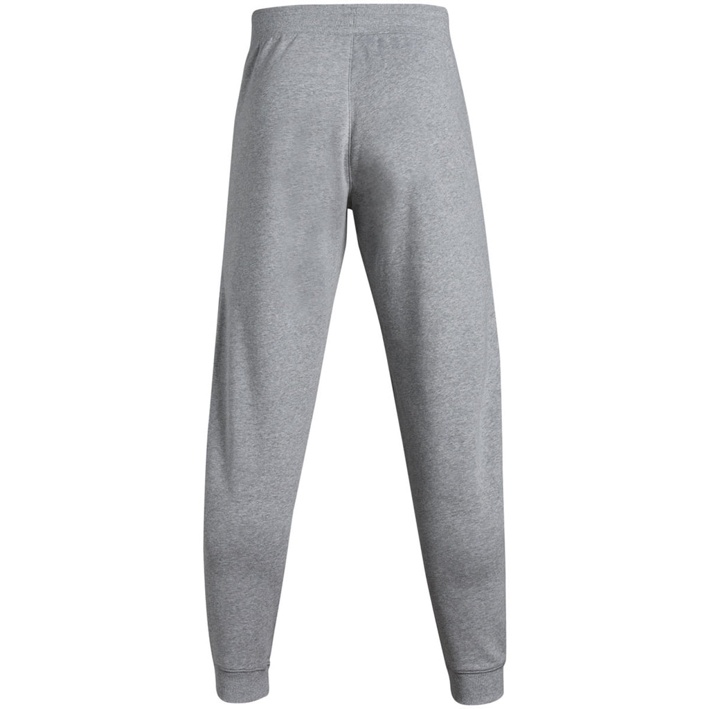 Under Armour Men's True Grey Heather Hustle Fleece Jogger