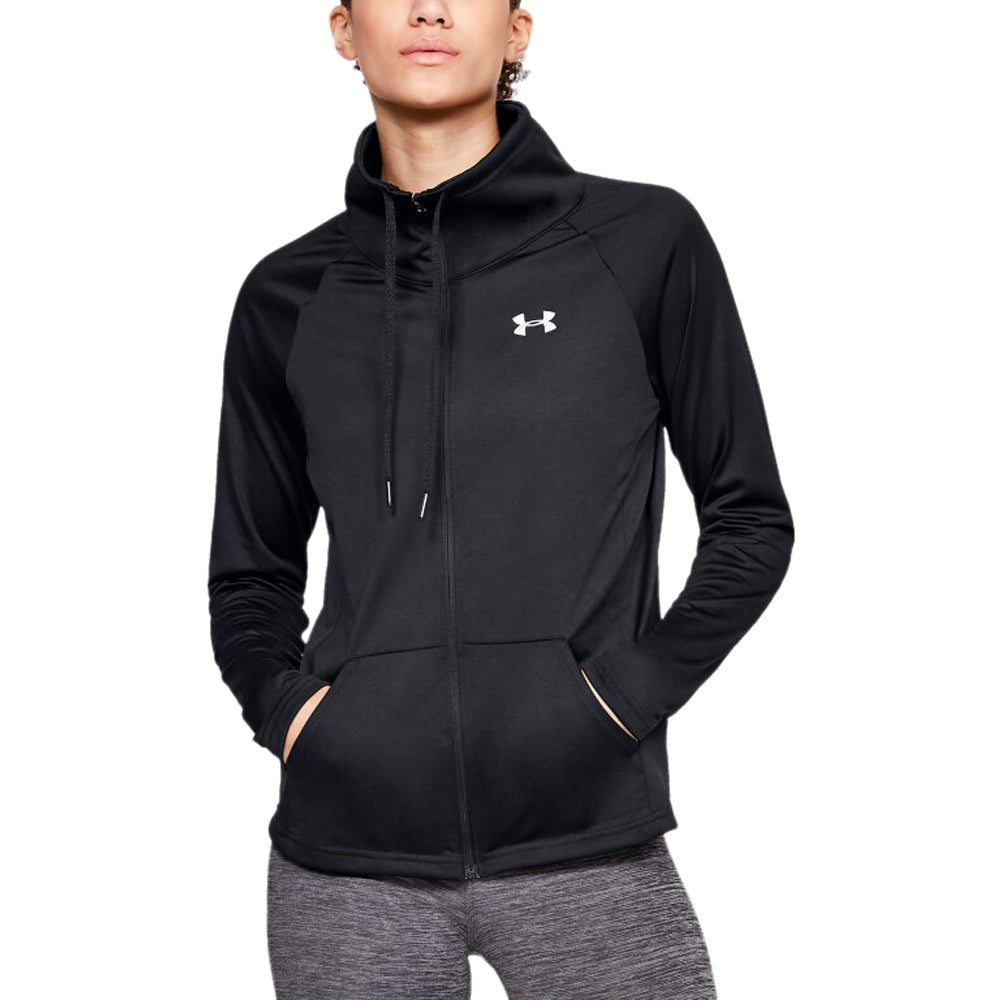 Under Armour Women's Black Tech Full Zip
