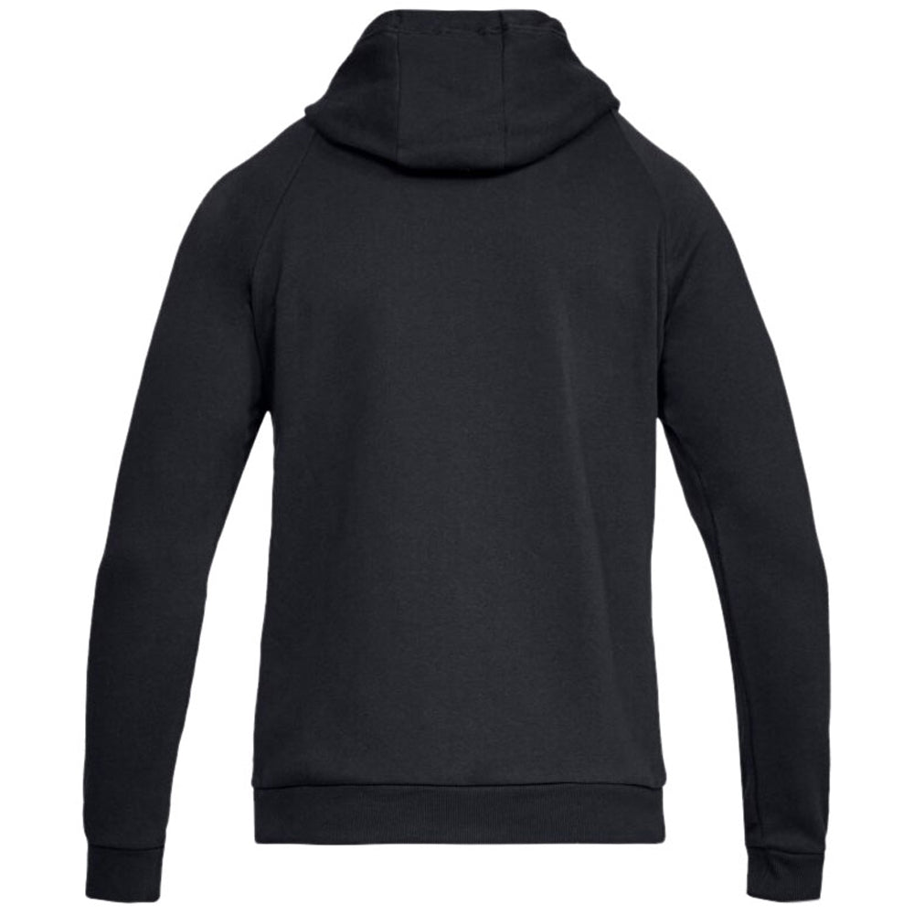 Under Armour Men's Black Rival Fleece Full-Zip Hoodie