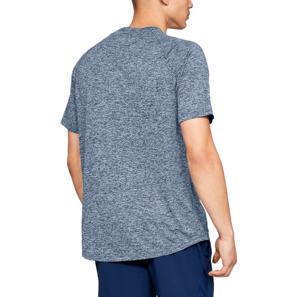 Under Armour Men's Academy Heather Tech 2.0 Short Sleeve Tee