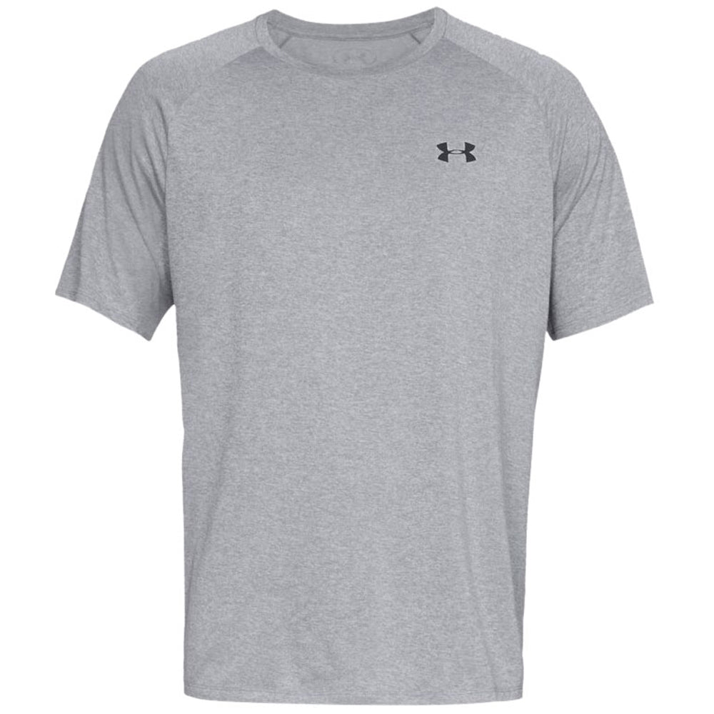 4ae339c5 Under Armour Men's Steel Light Heather Tech 2.0 Short Sleeve Tee. ADD YOUR  LOGO