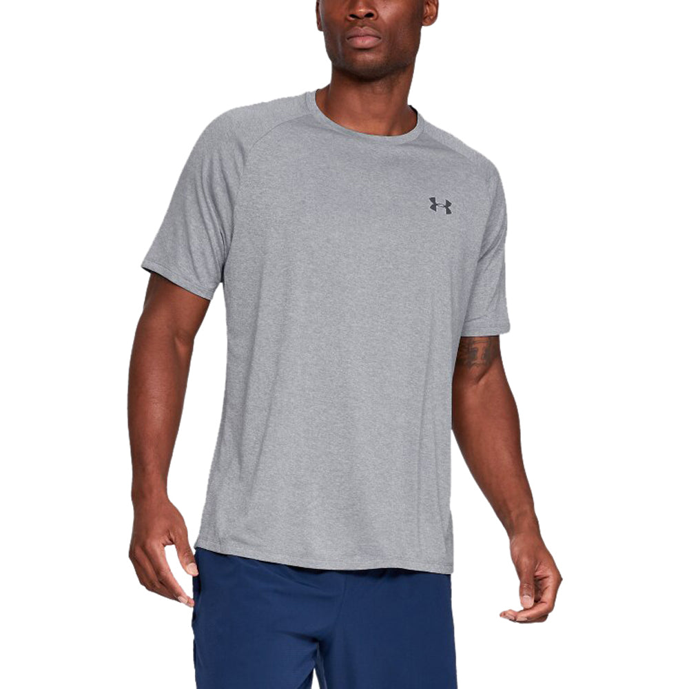 Under Armour Men's Steel Light Heather Tech 2.0 Short Sleeve Tee