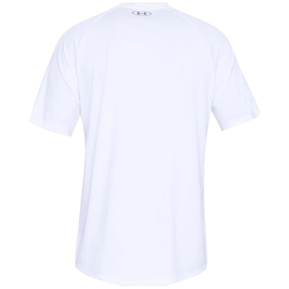 Under Armour Men's White Tech 2.0 Short Sleeve Tee