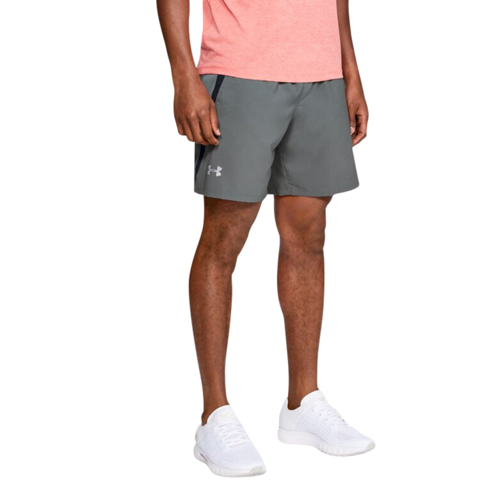"Under Armour Men's Pitch Grey Launch 7"" Shorts"